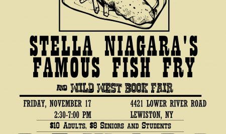 Annual Fish Fry and Book Fair to be held November 17, 2017