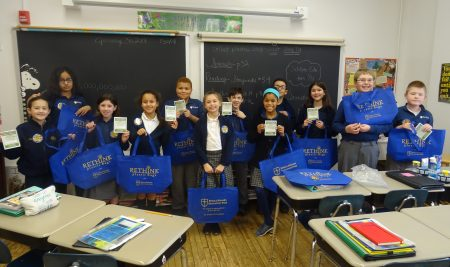 Stella Niagara Education Park's 5th grade class learns to rethink recycling.