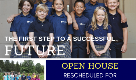 Open House Rescheduled for Wednesday, February 13th